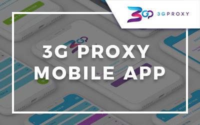 3G Proxy Mobile App