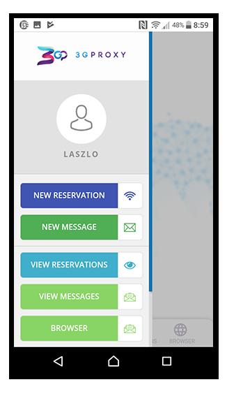 3G Proxy Mobile App - 3G Proxy